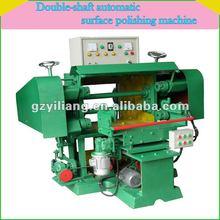 flat metal hardware double side grinding machine automatic surface polishing.