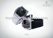 2012 new arrivals mobile phone TW520 with MP3,MP4,Bluetooth, Stainless steel