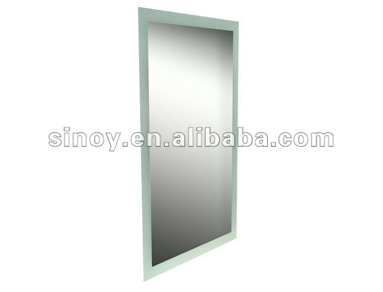 Pulido sin marco 4mm espesor borde biselado espejo espejos for Espejos ovalados sin marco