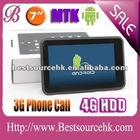 GPS Google Android tablet 3G - 3G HDMI MTK6575 with CE MTK7501