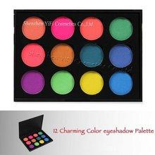 Tz12 magnetic DIY eyeshadow palette makeup brush set wholesale exporters