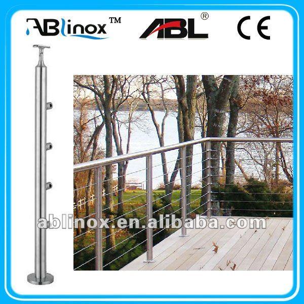 Modern Metal Stair Railings,Outdoor Metal Stair Railing