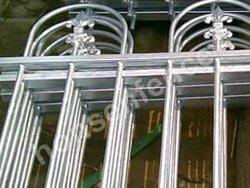Top Quality Black Aluminum Fence