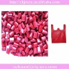red HDPE virgin based food contact plastic pellets