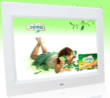 New led panel 10.1 inch big screen digital photo frame with clock and calendar(DPF9102)