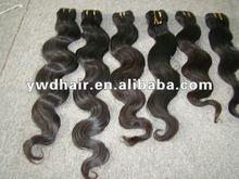 2012 Hot Sales 100% Virgin Peruvian body wavy Hair Extension, 100g per pack