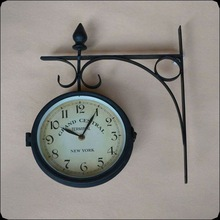 Steel Wall Mounted antique clock