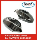 car carbon side mirror cover for BMW E90