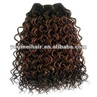 Hot selling 16inch 100% virgin brazilian remy hair jerry curl short weaving