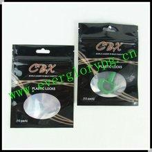 2012 HOT OEM Plastic Locks 10 Pack Black Zip Lock Bag