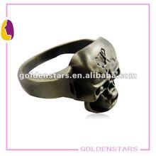 2012 Super cool solid skull finger ring for Halloween