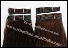 Grade AAA 100% Virgin Brazilian Silky Straight Remy Human Hair Weft