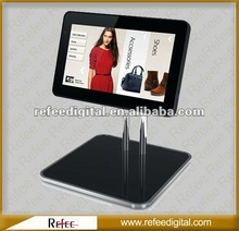 15 Inch Ipad Style Mall Hotel Table Stand Shopping Mall Kiosk