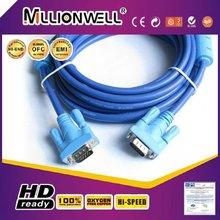 HD15 pin VGA cable,rca to vga cable,vga cable max resolution