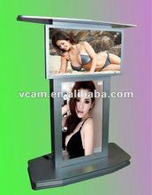 Double screens LCD AD Digital TV