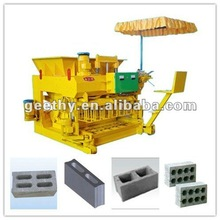 QMY6-25 movable soil/cement block making machine quotation