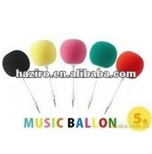 colorful portable mini speaker for MP3/MP4/mobile phone