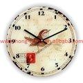 Meilleurs vendeurs! D30cm! Bon verre décoratif mur antique horloge coucou à vendre