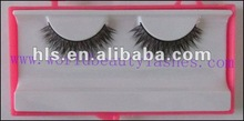 2012 fashionable pair packed real mink eyelash