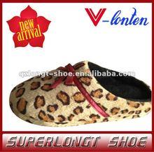colorful indoor sheepskin women slipper