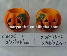 2012 ceramic halloween pumpkin
