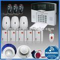 Zonas 40 pantalla lcd pstn teléfono fijo teléfono de línea fija inalámbrica en casa de seguridad antirrobo alarma de intrusión fc-300 sistema
