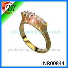 New Designs Diamond Cooper Ring For Women