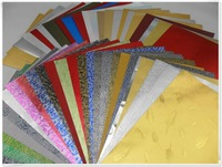 High Quality Metallized Embossed Paper For Box Making