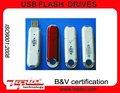 Customized Rectangle palo de plástico, Tarjeta de memoria Flash USB