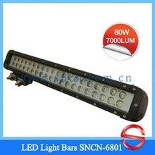 SNCN-6801 80w Fire Engine,Truck,Bus,ATVS.SUVS Headlight 24/ 12 V LED Work Light Bars