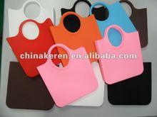 2012 fashion Silicone shopping bag
