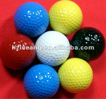 Double Ply Color golf Ball