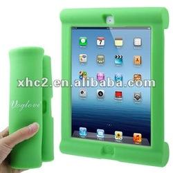 Fashion Folding Shockproof Silicone Case for New iPad
