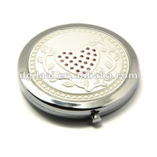 2012 hot sale promotional gifts antique pocket mirror