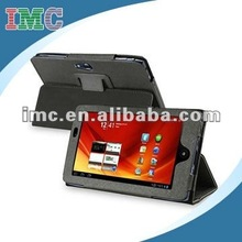 Black Leather Case for Acer Tablet PC Iconia A100(IMC-TOACE-1007)