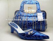 2012 new style Fashion Women Italian Matching Shoes And Italy designer handbag
