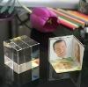 office desk decoration crystal image cube