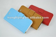 2012 fashionable Leather pouch case for iphone 5