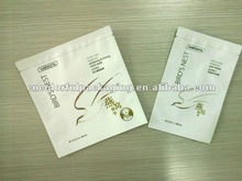Laminated material easy absorb facial mask packaging bags