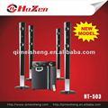 Altavoz 5.1/5.1 de cine en casa sistema de altavoces/5.1 sistema de altavoces multimedia con puerto usb, sd