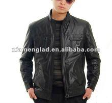 2012 men's PU jacket cheap jacket