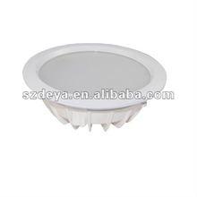LEDlux 11W 600 Lumen White Downlight Kit in Cool White