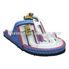 Hot sale amusement park kids entertainment inflatables slides