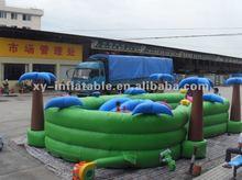 2012 inflatable kiddie ocean playland
