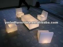 illuminated LED furniture with light/battery led illuminated furniture