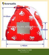 pop up cute pet tent pink dog tent