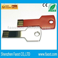 2012 hot sale colorful cheap promotional gift key shaped all kinds of usb flash drive