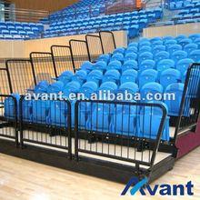 Luxe bleacher chair indoor sports equipment for basketball softball entertainment sports games