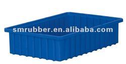 Custom Silicone Rubber Plastic Boxes in Blue Color