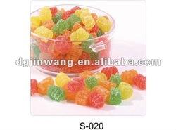 gummy bear with sugar coating